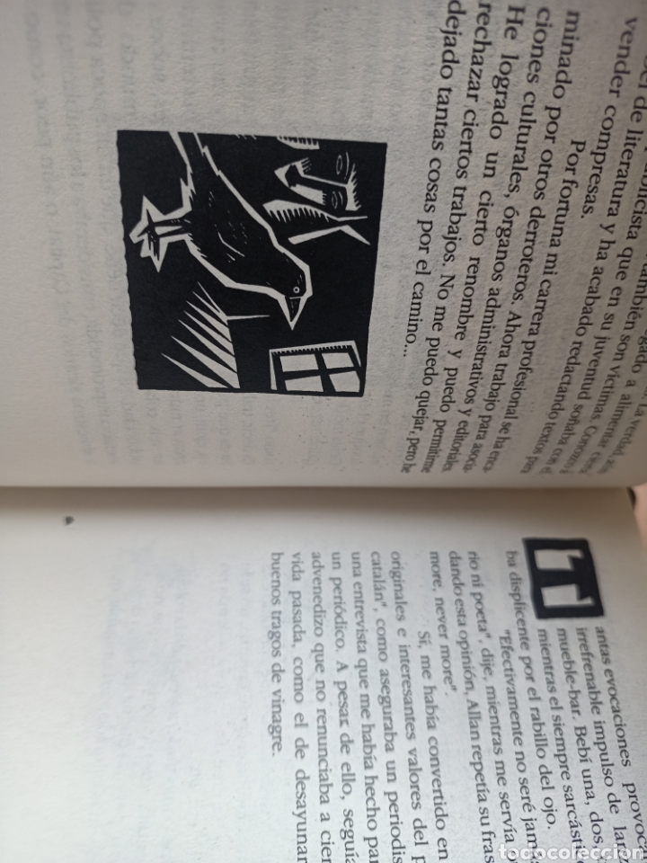 Libros de segunda mano: EL CUERVO DIJO NEVER MORE, XAVI CAPMANY I CARLOS DIAZ, RELATO / STORY, 1992 - Foto 3 - 278967758