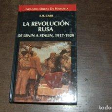 Libros de segunda mano: LA REVOLUCIÓN RUSA. DE LENIN A STALIN, 1917-1929. E. H. CARR. Lote 278979883