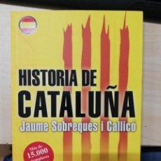Libros de segunda mano: HISTORIA DE CATALUÑA - JAUME SOBREQUES I CALLICÓ. 2016. Lote 278980883