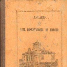 Libros de segunda mano: ANUARIO DEL REAL OBSERVATRIO DE MADRID. AÑO VII, 1866. A-LMAD-460. Lote 278980948