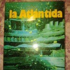 Libros de segunda mano: LA ATLÁNTIDA. MARIUS LLEGET. A.T.E. AÑO 1977. PÁGINAS 283. PESO 350 GR.. Lote 279356278