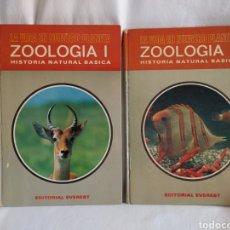 Libros de segunda mano: LA VIDA EN NUESTRO PLANETA ZOOLOGÍA 1 Y 2 HISTORIA NATURAL BÁSICA EDITORIAL EVEREST.1971.. Lote 279403773