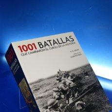 Livros em segunda mão: LIBROS. 1001 BATALLAS QUE CAMBIARON EL CURSO DE LA HISTORIA, R. G. GRANT. ED. GRIJALBO, 2017. RÚSTIC. Lote 279444013