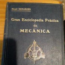 Libros de segunda mano: GRAN ENCICLOPEDIA PRACTICA DE MECANICA.TOMO PRIMERO.HENRI DESARCES.EDIT.LABOR S.A.972 PAGINAS. Lote 279513448