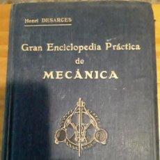 Libros de segunda mano: GRAN ENCICLOPEDIA PRACTICA DE MECANICA.TOMO TERCERO.HENRI DESARCES.EDIT.LABOR S.A.769 PAG.. Lote 279516123