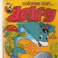 Libros de segunda mano: COLOREA CON DELFY. Nº 8. EDIDER. (C/A55). Lote 279518468