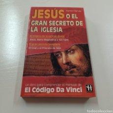 Libros de segunda mano: JESUS O EL GRAN SECRETO DE LA IGLESIA - RAMON HERVAS. Lote 279554828