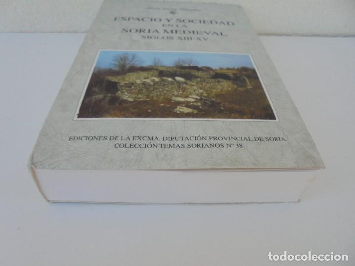 Libros de segunda mano: ESPACIO Y SOCIEDAD EN LA SORIA MEDIEVAL SIGLOS XIII-XV. MARIA ASENJO GONZALEZ. DIPUTACION DE SORIA - Foto 3 - 280112778