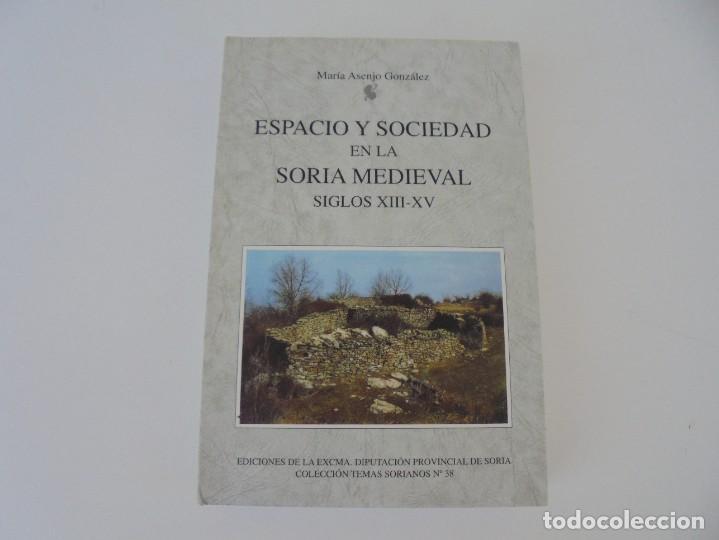 Libros de segunda mano: ESPACIO Y SOCIEDAD EN LA SORIA MEDIEVAL SIGLOS XIII-XV. MARIA ASENJO GONZALEZ. DIPUTACION DE SORIA - Foto 6 - 280112778