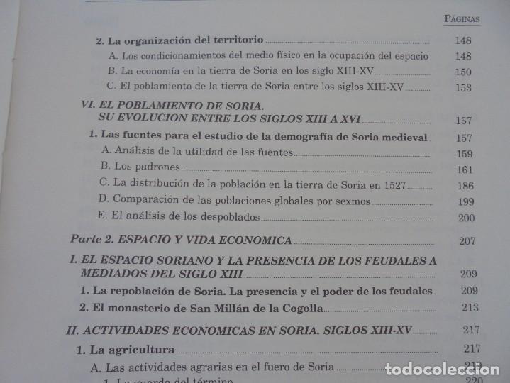 Libros de segunda mano: ESPACIO Y SOCIEDAD EN LA SORIA MEDIEVAL SIGLOS XIII-XV. MARIA ASENJO GONZALEZ. DIPUTACION DE SORIA - Foto 12 - 280112778