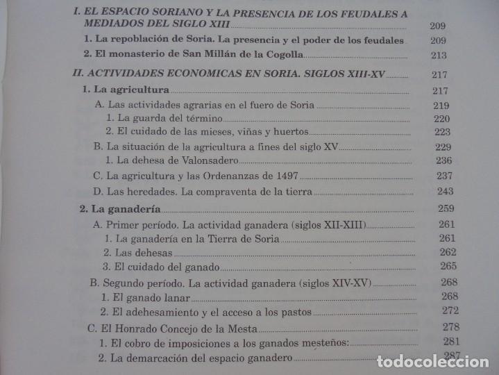 Libros de segunda mano: ESPACIO Y SOCIEDAD EN LA SORIA MEDIEVAL SIGLOS XIII-XV. MARIA ASENJO GONZALEZ. DIPUTACION DE SORIA - Foto 13 - 280112778