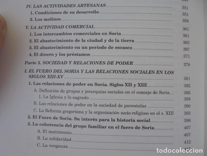 Libros de segunda mano: ESPACIO Y SOCIEDAD EN LA SORIA MEDIEVAL SIGLOS XIII-XV. MARIA ASENJO GONZALEZ. DIPUTACION DE SORIA - Foto 15 - 280112778