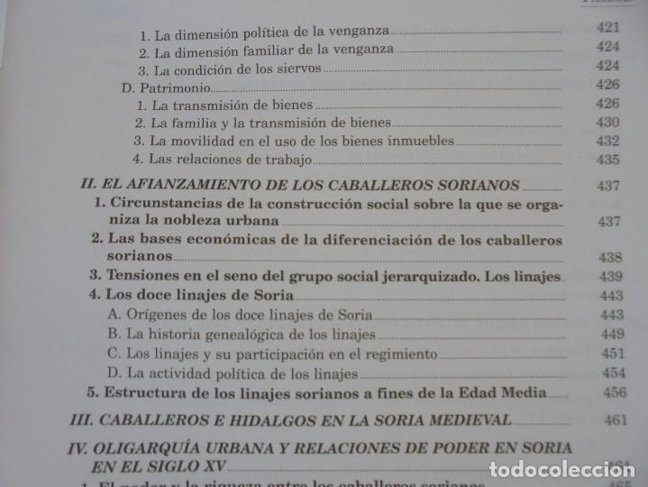 Libros de segunda mano: ESPACIO Y SOCIEDAD EN LA SORIA MEDIEVAL SIGLOS XIII-XV. MARIA ASENJO GONZALEZ. DIPUTACION DE SORIA - Foto 16 - 280112778