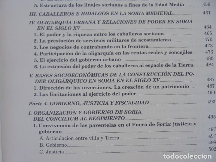 Libros de segunda mano: ESPACIO Y SOCIEDAD EN LA SORIA MEDIEVAL SIGLOS XIII-XV. MARIA ASENJO GONZALEZ. DIPUTACION DE SORIA - Foto 17 - 280112778