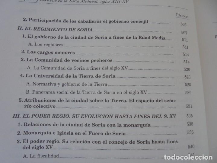 Libros de segunda mano: ESPACIO Y SOCIEDAD EN LA SORIA MEDIEVAL SIGLOS XIII-XV. MARIA ASENJO GONZALEZ. DIPUTACION DE SORIA - Foto 18 - 280112778