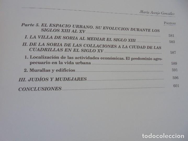 Libros de segunda mano: ESPACIO Y SOCIEDAD EN LA SORIA MEDIEVAL SIGLOS XIII-XV. MARIA ASENJO GONZALEZ. DIPUTACION DE SORIA - Foto 20 - 280112778