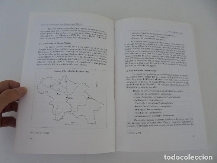 Libros de segunda mano: ESPACIO Y SOCIEDAD EN LA SORIA MEDIEVAL SIGLOS XIII-XV. MARIA ASENJO GONZALEZ. DIPUTACION DE SORIA - Foto 22 - 280112778