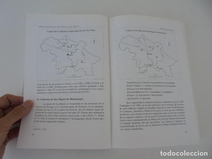 Libros de segunda mano: ESPACIO Y SOCIEDAD EN LA SORIA MEDIEVAL SIGLOS XIII-XV. MARIA ASENJO GONZALEZ. DIPUTACION DE SORIA - Foto 23 - 280112778