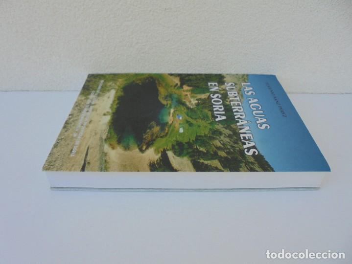 Libros de segunda mano: LAS AGUAS SUBTERRANEAS EN SORIA. EUGENIO SANZ PEREZ. DIPUTACION PROVINCIAL DE SORIA. 1999 - Foto 4 - 280112988