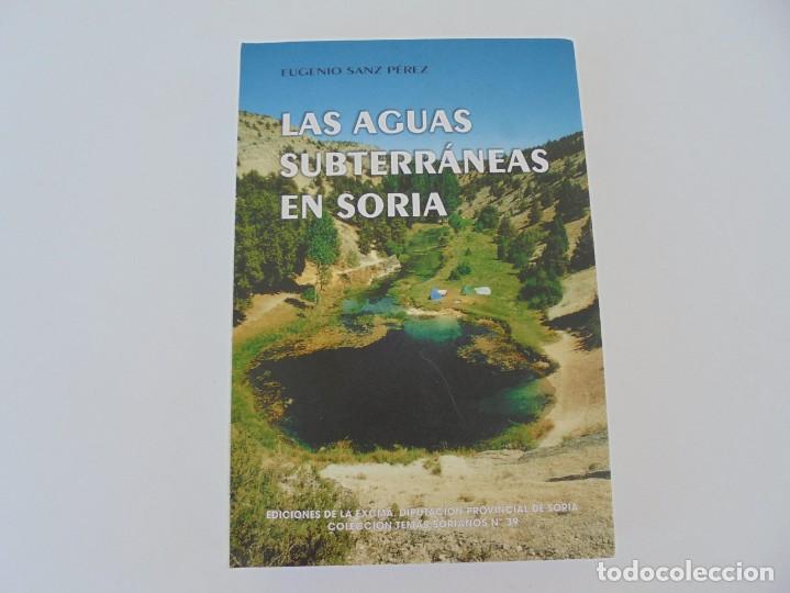 Libros de segunda mano: LAS AGUAS SUBTERRANEAS EN SORIA. EUGENIO SANZ PEREZ. DIPUTACION PROVINCIAL DE SORIA. 1999 - Foto 5 - 280112988