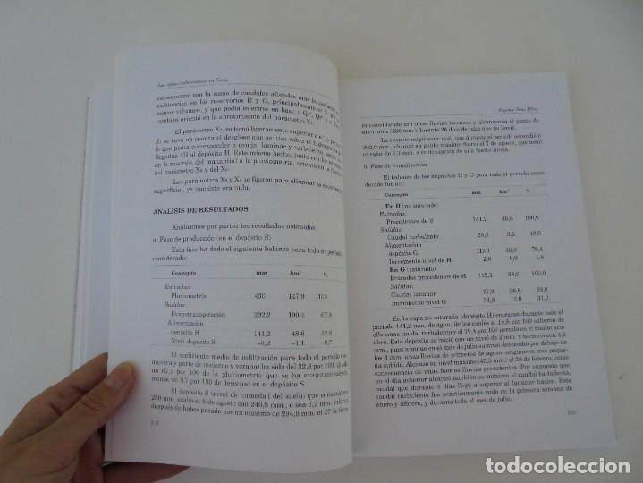 Libros de segunda mano: LAS AGUAS SUBTERRANEAS EN SORIA. EUGENIO SANZ PEREZ. DIPUTACION PROVINCIAL DE SORIA. 1999 - Foto 17 - 280112988