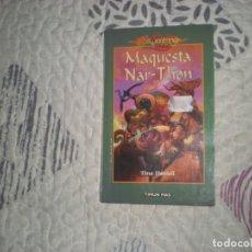 Libros de segunda mano: MAQUESTA NAR-THON;TINA DANIELL;TIMUN MAS;2001. Lote 280116178