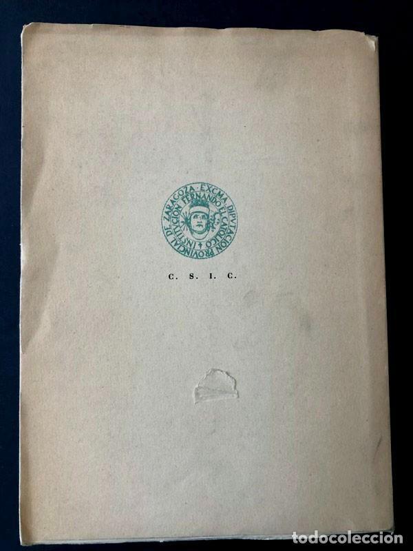 Libros de segunda mano: JOSÉ NICOLÁS DE AZARA / CARLOS E. CORONA BARATECH / IFC ZARAGOZA 1948 / FIRMA AUTOR / NUMERADO - Foto 6 - 280116888