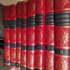 Libros de segunda mano: HISTORIA UNIVERSAL COMPLETA EN 8 VOLÚMENES. LABOR, ENCICLOPEDIA. Lote 280117858