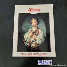 Libros de segunda mano: ÁLBUM LETRAS ARTES. Lote 280129748