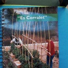 Libros de segunda mano: ES CORRALET - HORTICULTURA ECOLÒGICA. Lote 280191788
