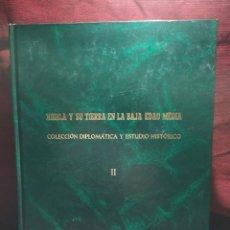 Libros de segunda mano: NIEBLA Y SU TIERRA EN LA BAJA EDAD MEDIA. COLECCIÓN DIPLOMÁTICA Y ESTUDIO HISTÓRICO.. Lote 280995078