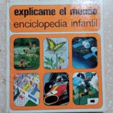 Libros de segunda mano: LOTE DE 3 TOMOS ENCICLOPEDIA INFANTIL. EXPLICAME EL MAR, EXPLICAME EL MUNDO Y EXPLICAME LA TIERRA.. Lote 281853548