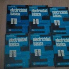 Libros de segunda mano: ELECTRICIDAD BÁSICA. 6 TOMOS. VAN VALKENBURGH NOOGER&NEVILLE INC. - MARCOMBO COMPLETA. Lote 281860738