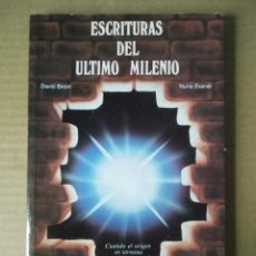 Libros de segunda mano: ESCRITURAS DEL ÚLTIMO MILENIO, POR DAVID BÍRONI Y NURIA EVANÉI (PEREA, 1990). PASADO Y FUTURO.. Lote 281895553