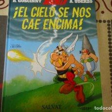 Libros de segunda mano: ASTERIX, EL CIELO SE NOS CAE ENCIMA, Nº 33, SALVAT. Lote 281961018