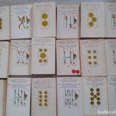 Libros de segunda mano: 'HISTORIA CRÍTICA DE LA LITERATURA ESPAÑOLA'. FRANCISCO RICO. 18 VOLÚMENES - COMPLETÍSIMA. Lote 293703328