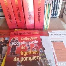 Libros de segunda mano: COLECCIÓN BOMBEROS - HEROS DU FEU - COLECCIÓN EN FRANCÉS, MÁS LIBROS, FICHAS, RAREZA PREMIUM. Lote 282490453