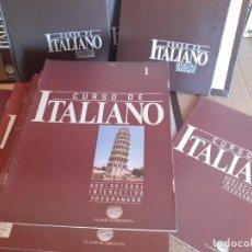 Libros de segunda mano: CURSO DE ITALIANO PLANETA-AGOSTINI (4 TOMOS) 72 FASCÍCULOS DEL CURSO BASE MÁS 12 FASCÍCULOS AVANZAD. Lote 282490928