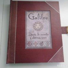 Libri di seconda mano: GALILEO DIARIO DE INVENTOS Y OBSERVACIONES ED MONTENA. Lote 282564643