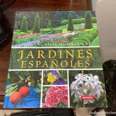 Libros de segunda mano: LIBRO JARDINES ESPAÑOLES. Lote 283011283