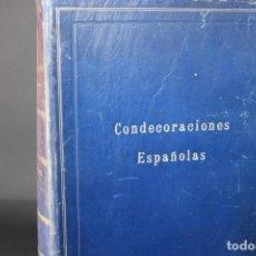 Libros de segunda mano: CONDECORACIONES ESPAÑOLAS / FEDERICO FERNANDEZ DE LA PUENTE. Lote 283056438
