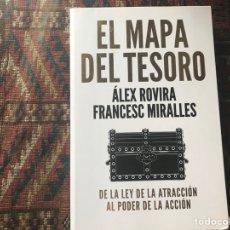 Libri di seconda mano: EL MAPA DEL TESORO. ÁLEX ROVIRA. Lote 283289123