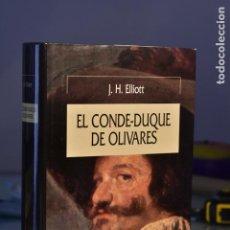 Libros de segunda mano: J. H. ELLIOTT- EL CONDE-DUQUE DE OLIVARES- EDITORIAL CRÍTICA. Lote 283347733
