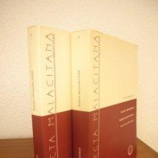 Libros de segunda mano: RAMÓN MENÉNDEZ PIDAL: ISLAM Y CRISTIANDAD. 2 VOLS. (UNIVERSIDAD DE MÁLAGA, 2001) MUY RARO. Lote 283401613