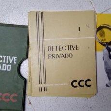 Livros em segunda mão: CURSO CCC DETECTIVE PRIVADO AÑOS 60 - 70. Lote 283514718