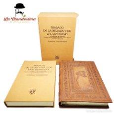 Libros de segunda mano: TRATADO DE LA BELLEZA Y DE LAS CONFITURAS. ALQUIMIA,FÓRMULAS,PÓCIMAS,ELIXIRES. MICHAEL NOSTRADAMUS.. Lote 283686178
