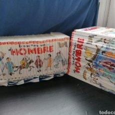 Libros de segunda mano: ERASE UNA VEZ EL HOMBRE COLECCIÓN COMPLETA LIBROS Y DVD. Lote 283743978
