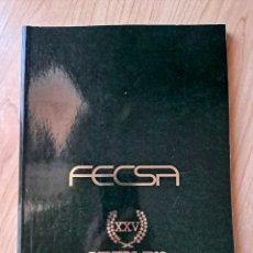 Libri di seconda mano: FECSA XXV ANIVERSARIO 1952-1977. Lote 283805543