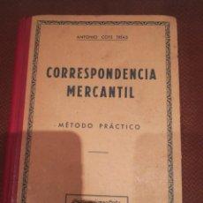 Libros de segunda mano: CORRESPONDENCIA MERCANTIL MÉTODO PRÁCTICO. Lote 283906143