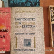 Libros de segunda mano: LOTE DE 13 LIBROS SOBRE PROFESORADO AÑOS 60. Lote 283935863